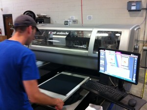 State of the Art, Direct-to-Garment Printing. Perfect for those small orders!